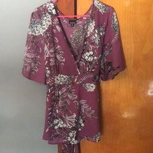 Floral Torrid Shirt Size 0(XL)